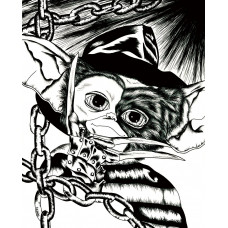 Gizmo Freddy (black/white)